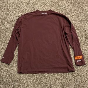 Heron Preston Mock Neck Shirt